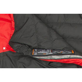 Mammut Nordic Down Spring Sovepose 195cm rød/sort